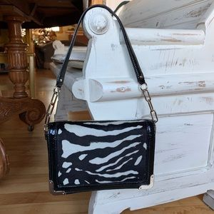 Ann Taylor Animal Print Shoulder Bag